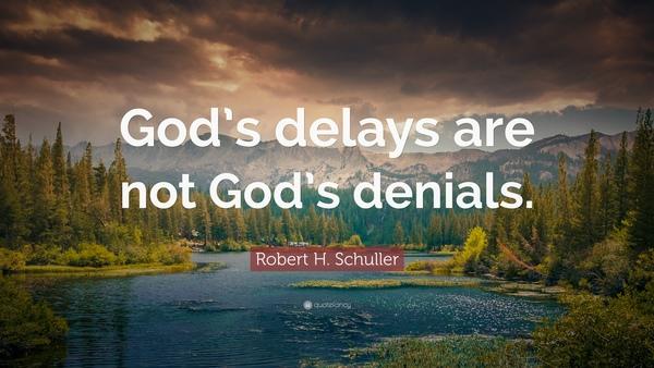 Delays of God - Brian Thom