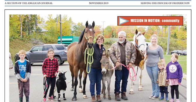 New Brunswick Anglican November 2019 image