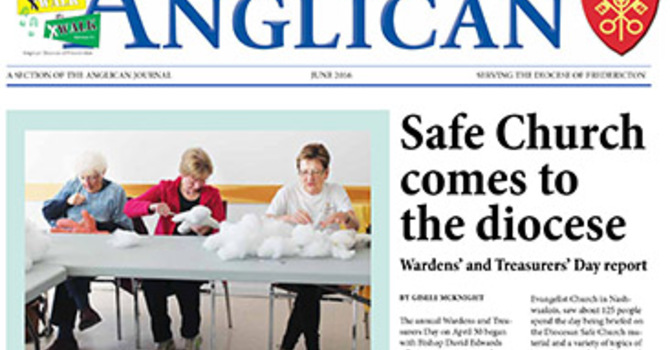 New Brunswick Anglican June 2016