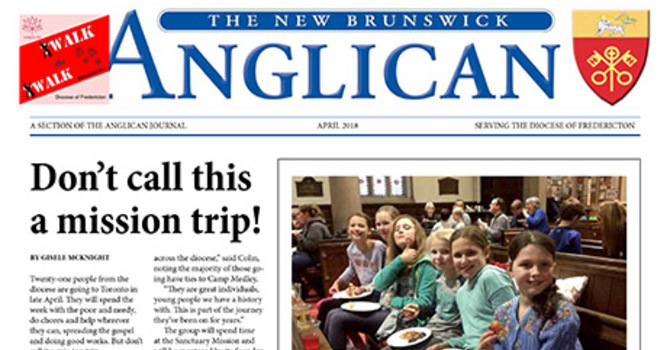 New Brunswick Anglican April 2018