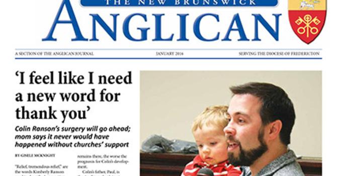 New Brunswick Anglican January 2016