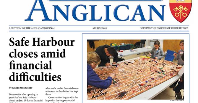 New Brunswick Anglican March 2016 image
