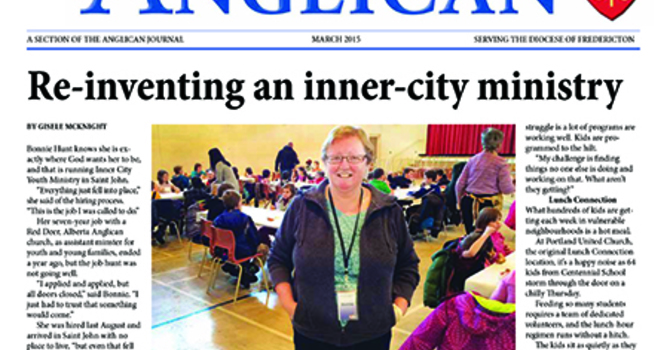 New Brunswick Anglican March 2015