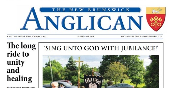 New Brunswick Anglican September 2018