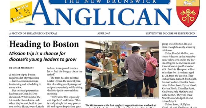 New Brunswick Anglican April 2017