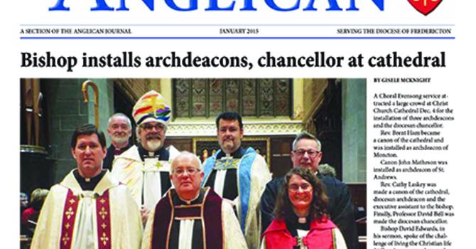 New Brunswick Anglican January 2015