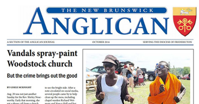 New Brunswick Anglican October 2016