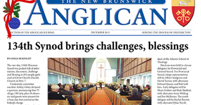 New Brunswick Anglican December 2015
