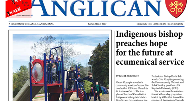New Brunswick Anglican November 2017