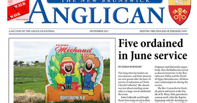 New Brunswick Anglican September 2017