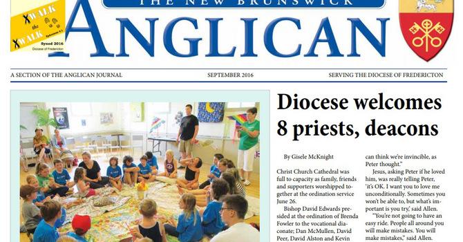 New Brunswick Anglican September 2016