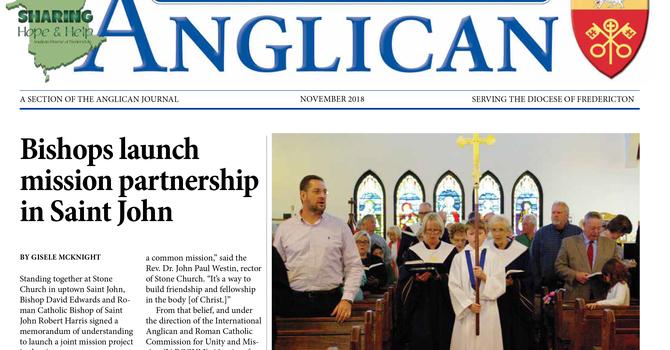 New Brunswick Anglican November  2018