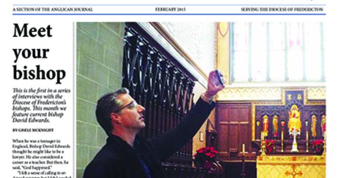New Brunswick Anglican February 2015 image
