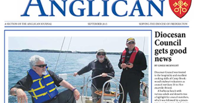 New Brunswick Anglican September 2015 image