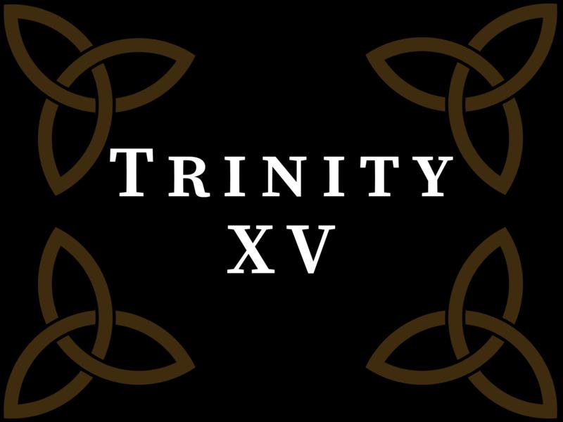 Trinity XV 2020, 10:00 A.M.