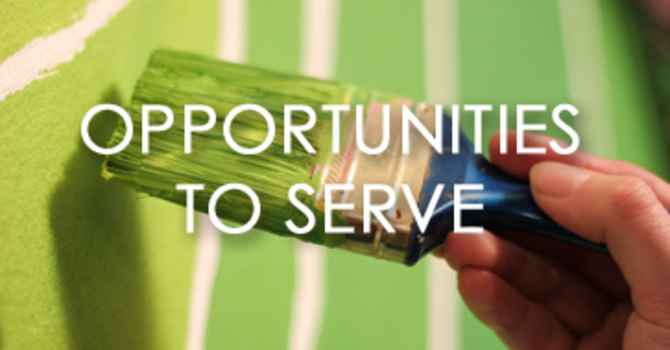 Opportunities to Serve