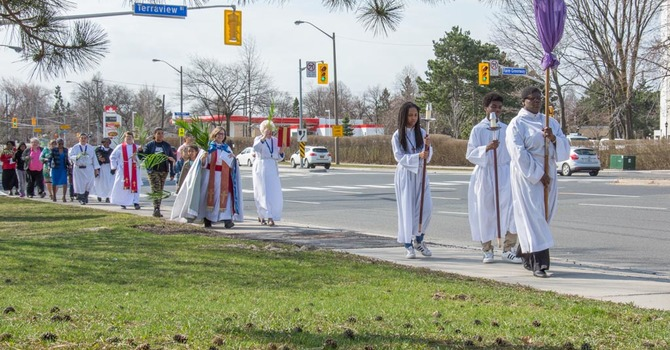 Hosanna! Palm Sunday on Victoria Park Ave. image