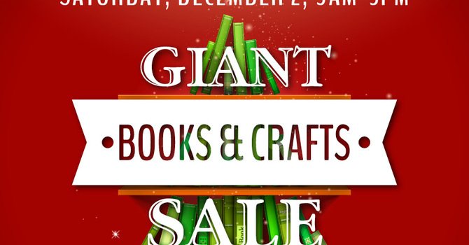 Giant Books & Crafts Sale