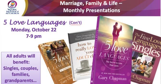 MFL Presentation - 5 Love Language - Part 2 - Oct 22   image
