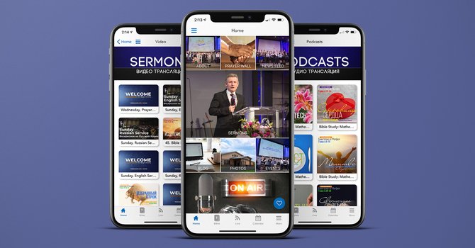 Church App for your Phone image
