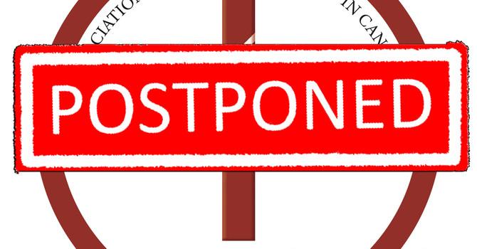 2020 Conference Postponed  image