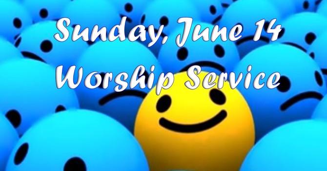 Sunday, June 14 Worship Service image