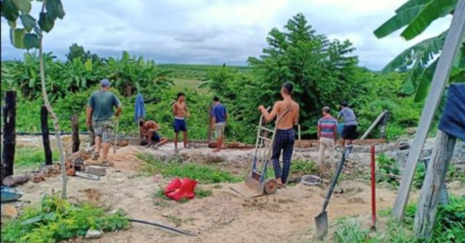 Hard Work on the Farm
