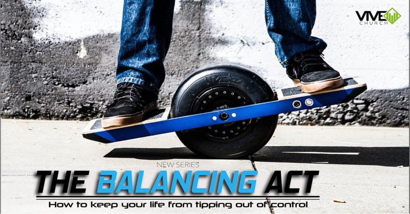 Balancing Act: Jesus at the Center