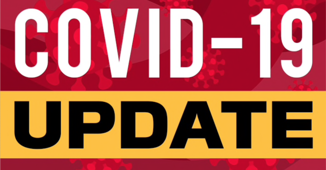 COVID-19 UPDATE as of April 28th, 2021 image