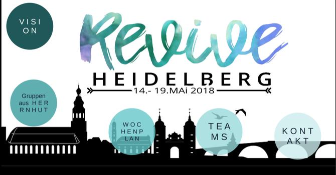 YWAM Herrnhut comes to Heidelberg May 14-19 image