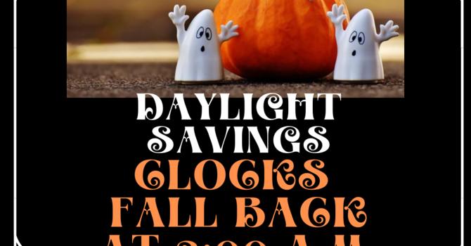 Daylight Savings  image