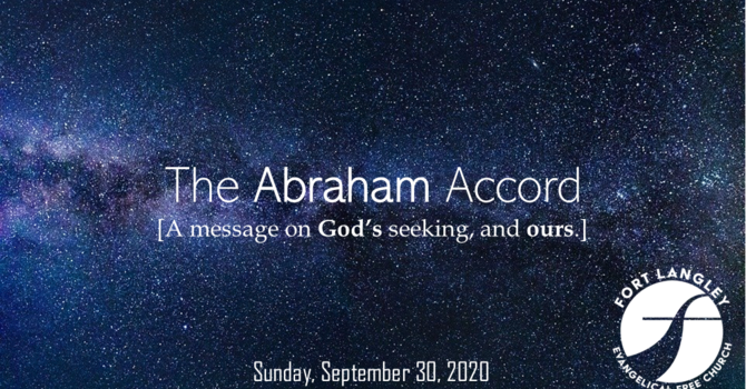 """On Mission with the Gospel - """"The Abraham Accord"""""""