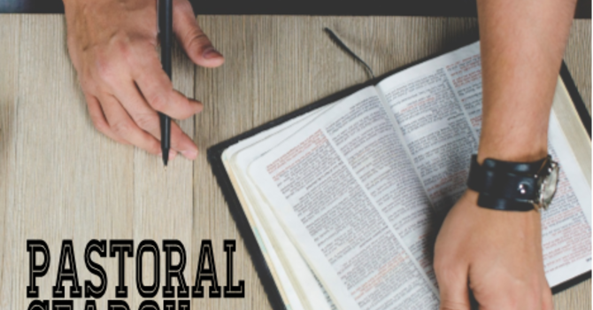 Pastoral Search Update image