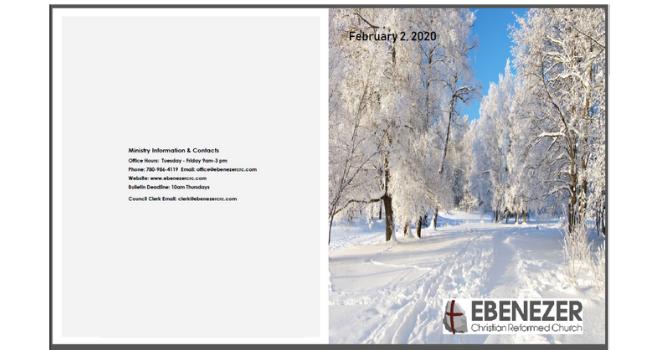 February 2, 2020 Bulletin
