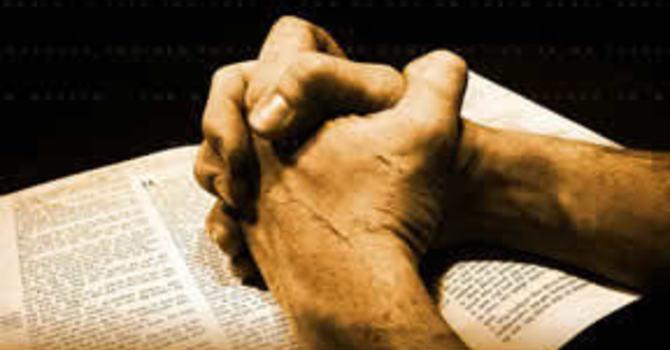 Men's Prayer Time