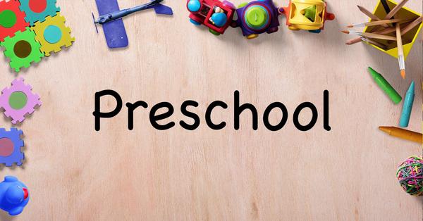 Sunday School - Preschool