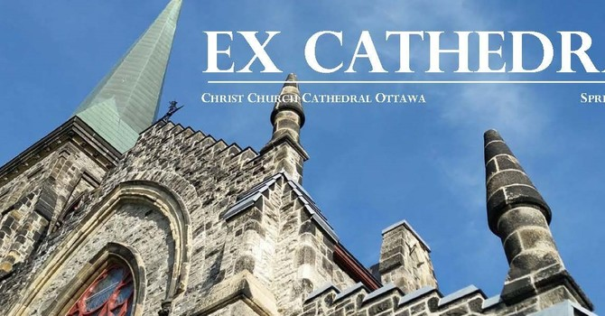 Easter Edition of ExCathedra - available in full colour on line image