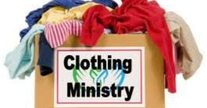 Clothing Ministry Changes image