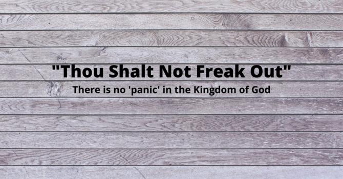 Jesus Isn't Anxious image