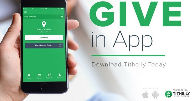 Online Giving Tithe.ly image