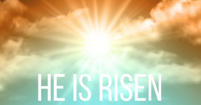 Easter Sunday Service Leaflet and Sermon image