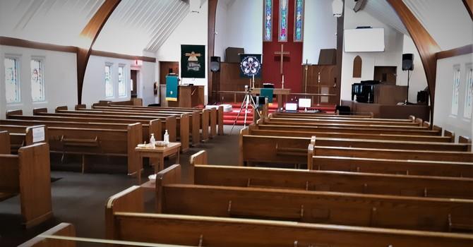 Hybrid Worship to begin Sunday, September 13 image