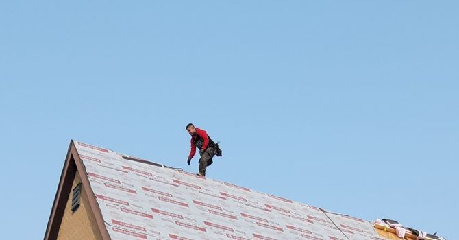 Shingling Project Completed image