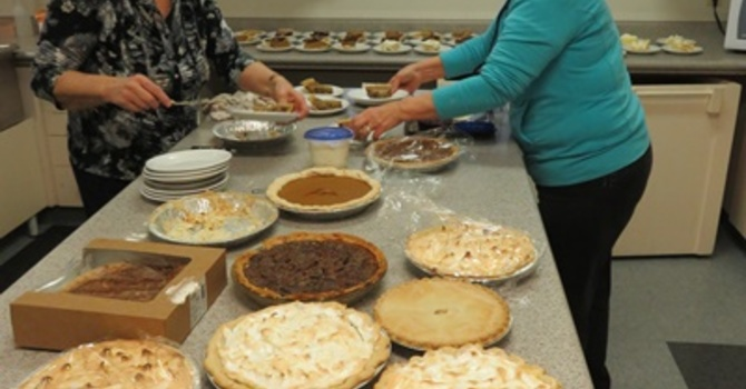 Pie Sale  February 12, 2017 image