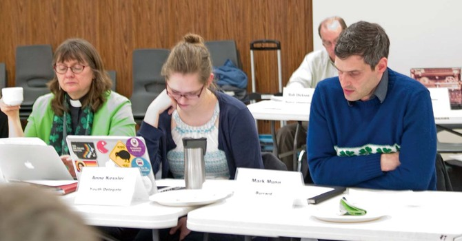 Diocesan Council Focus on Parish Development Awareness image