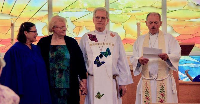 The Reverend John Mash Retires