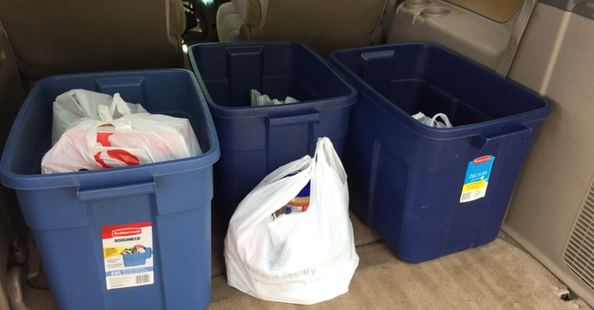 Neighbourhood Ministry Food and Clothing Drive Delivers