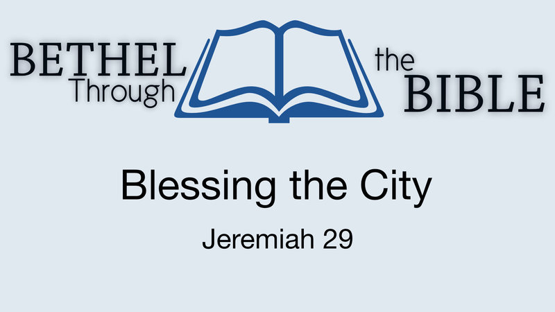 Blessing the City