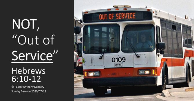 """NOT """"Out of Service"""" 