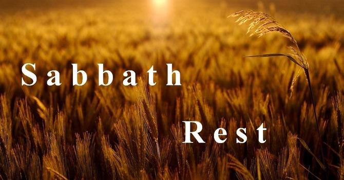 "Sabbath Rest and ""Good Enough"" image"